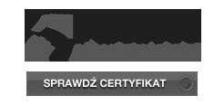 Certyfikat - pewny kontrahent